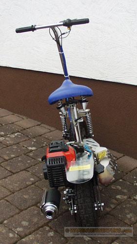 benzin scooter mach 1 go ped roller moped mokick. Black Bedroom Furniture Sets. Home Design Ideas