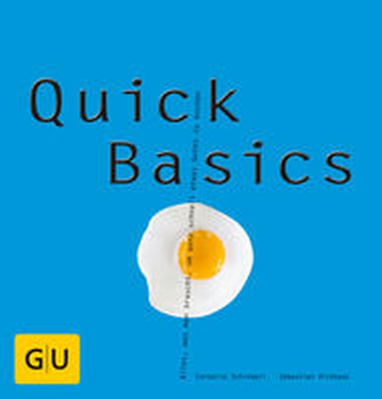 gu gr fe und unzer quick basics kochbuch kochen koch buch ebay. Black Bedroom Furniture Sets. Home Design Ideas