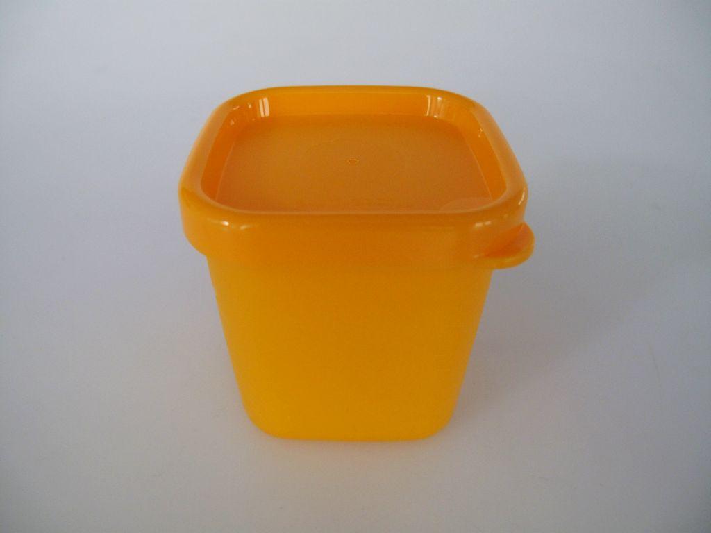 tupperware mini gefrier mini eisscholle gefrier beh lter 80 ml orange dose polar ebay. Black Bedroom Furniture Sets. Home Design Ideas