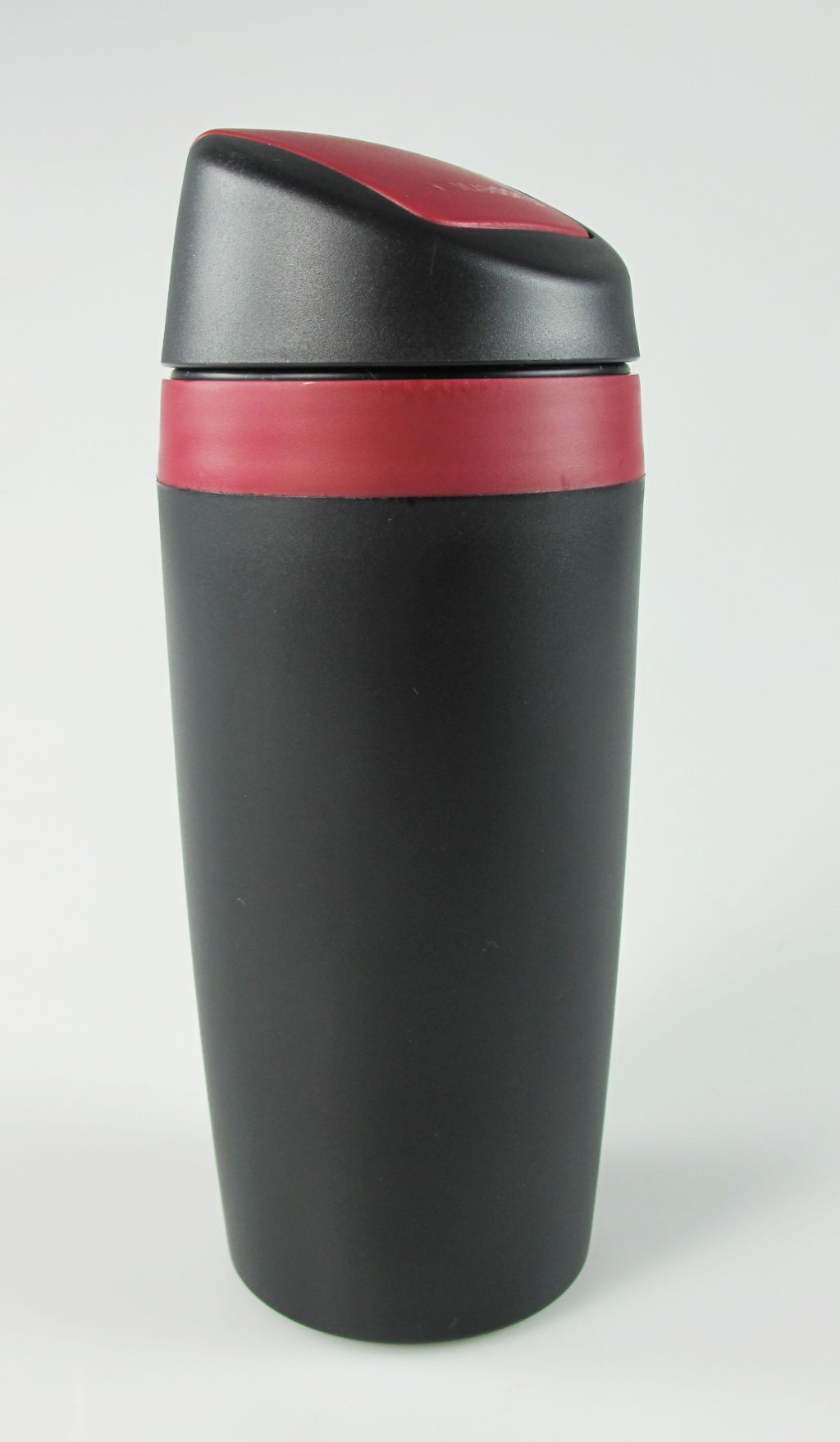 tupperware kaffee to go and kaffeebecher thermobecher coffee cafe schwarz rot ebay. Black Bedroom Furniture Sets. Home Design Ideas