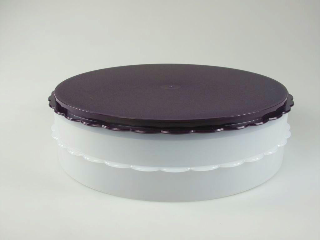 tupperware hochstapler lila kuchen torte f r tortentwist twist ebay. Black Bedroom Furniture Sets. Home Design Ideas