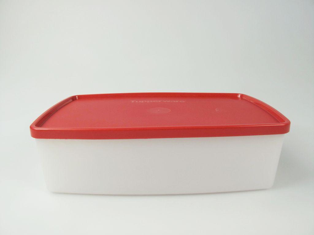 tupperware k hles lottchen 1 3 l gefrierdose gefrier beh lter rot ebay. Black Bedroom Furniture Sets. Home Design Ideas
