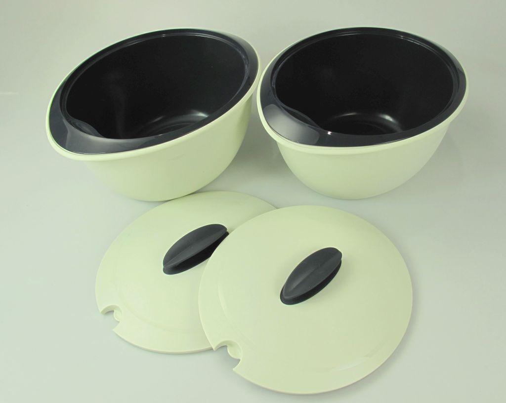 tupperware thermo duo 2 x c133 sch ssel 3 5 liter grau ebay. Black Bedroom Furniture Sets. Home Design Ideas
