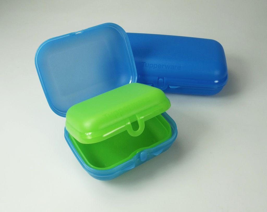 tupperware twinset blau brotdose box beh lter maxi twin. Black Bedroom Furniture Sets. Home Design Ideas