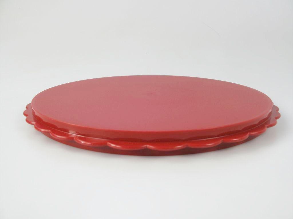 tupperware ersatzteil hochstapler rot kuchen torte f r tortentwist twist ebay. Black Bedroom Furniture Sets. Home Design Ideas