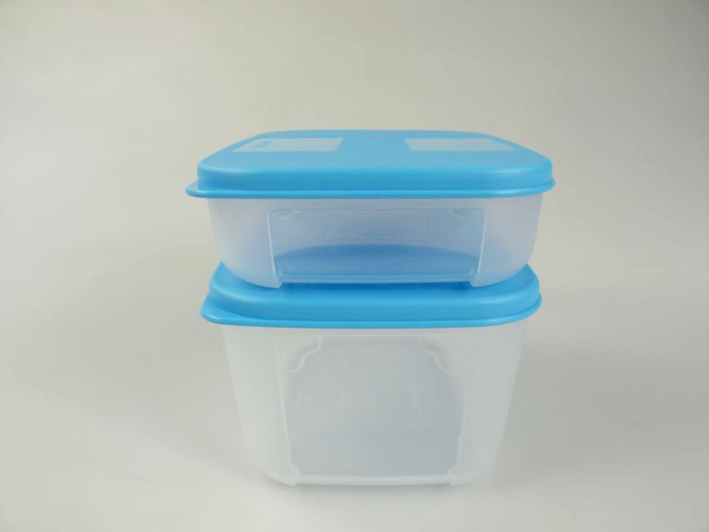 tupperware k hlschrank systemdose 700 300 ml blau frische system ebay. Black Bedroom Furniture Sets. Home Design Ideas