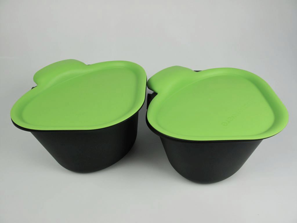 tupperware adretto alles in einem kartoffel schale biom ll gr n bio m ll 2 neu ebay. Black Bedroom Furniture Sets. Home Design Ideas