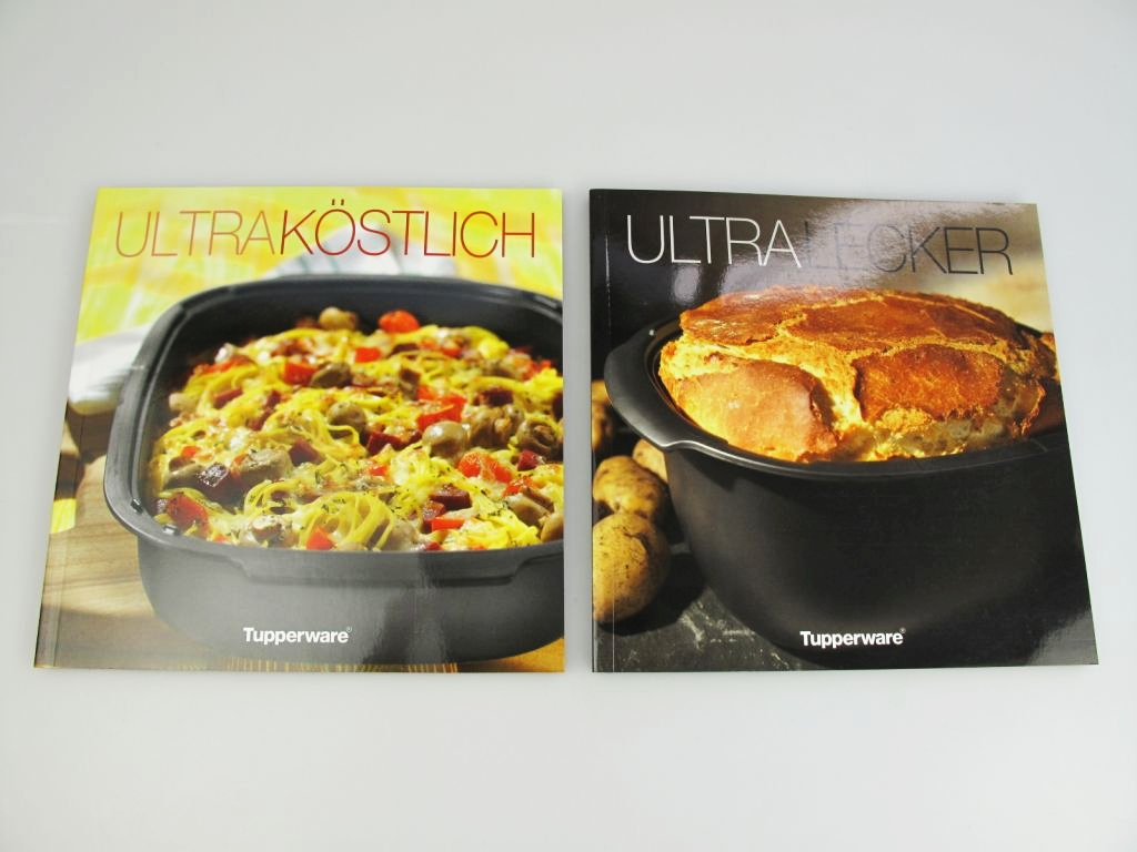 tupperware kochbuch ultra lecker ultrapro ultra k stlich backofen rezepte. Black Bedroom Furniture Sets. Home Design Ideas