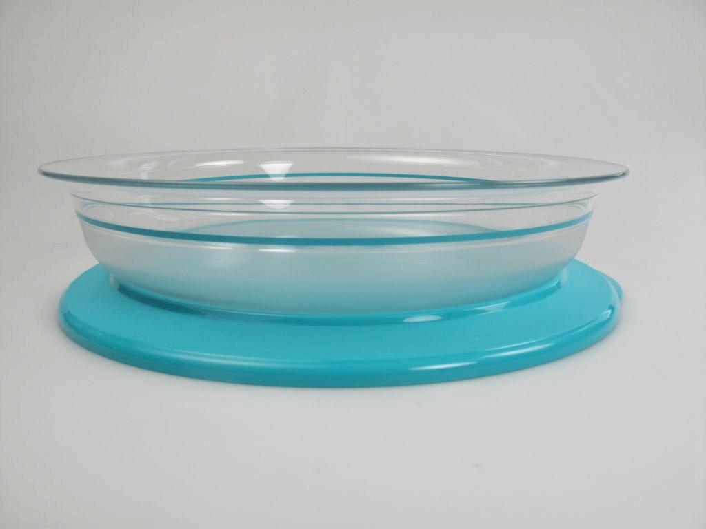 tupperware tafelperle flach servier perle 2 0 l t rkis tafel servierschale ebay. Black Bedroom Furniture Sets. Home Design Ideas