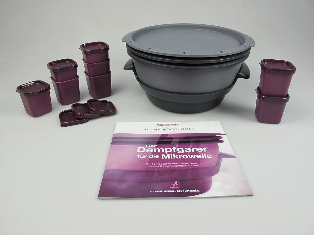 tupperware mikro dampfwunder i101 microgourmet dampfgarer f rmchen heft. Black Bedroom Furniture Sets. Home Design Ideas