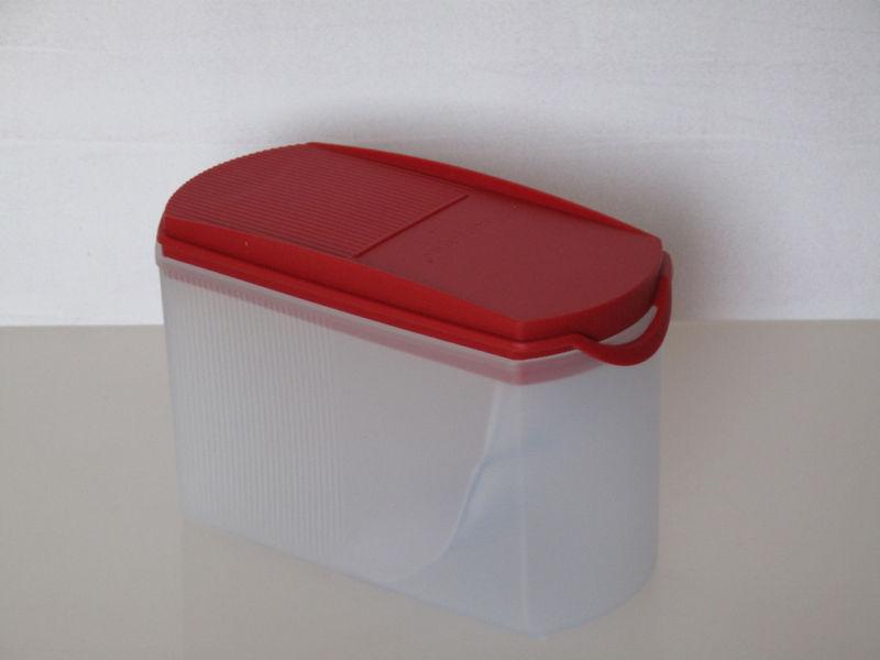 tupperware a 141 eidgenosse plus rot 1 0 liter vorratsdose ebay. Black Bedroom Furniture Sets. Home Design Ideas