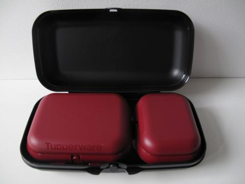tupperware a156 maxi twin set 3 brotdose box beh lter. Black Bedroom Furniture Sets. Home Design Ideas
