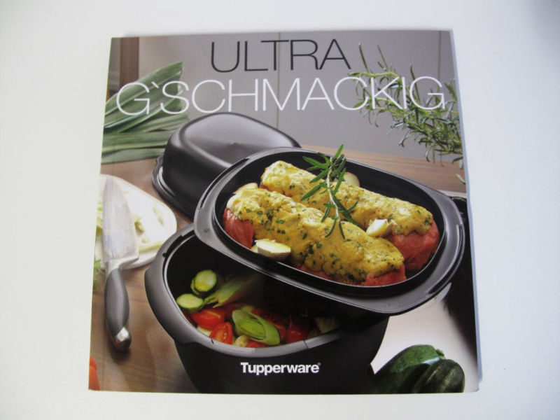 tupperware ultrapro ultra g schmackig kochbuch rezepte ebay. Black Bedroom Furniture Sets. Home Design Ideas