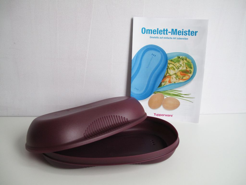 tupperware i58 omelett meister omlettwunder lila omlett omlette ei eier mikro ebay. Black Bedroom Furniture Sets. Home Design Ideas