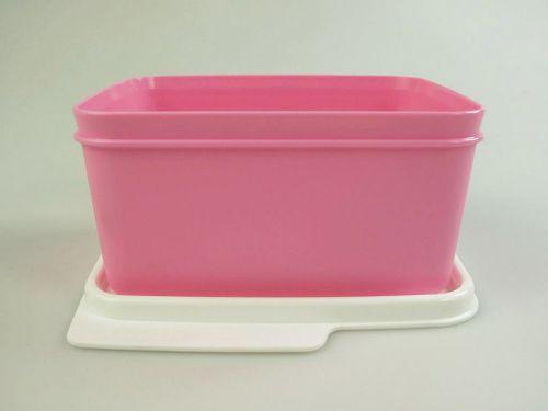 tupperware k hlschrank 1 2l rosa k hle ecke frischemeister frische meister dose ebay. Black Bedroom Furniture Sets. Home Design Ideas