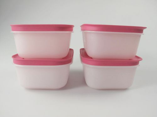 tupperware gefrier beh lter 450 ml wei pink eis kristall 4 eiskristall ebay. Black Bedroom Furniture Sets. Home Design Ideas