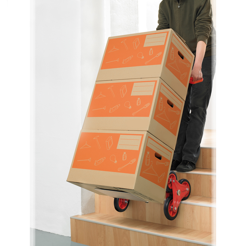 aluminium sackkarre treppensteiger 150 kg stapelkarre treppenkarre stufenkarre ebay. Black Bedroom Furniture Sets. Home Design Ideas