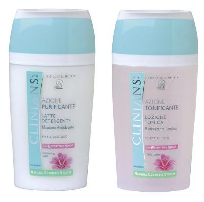 CLINIANS-MALVE-Gesichtsreinigungs-Duo-Lotion-200ml-Tonic-200ml-1-75-Eur-100ml