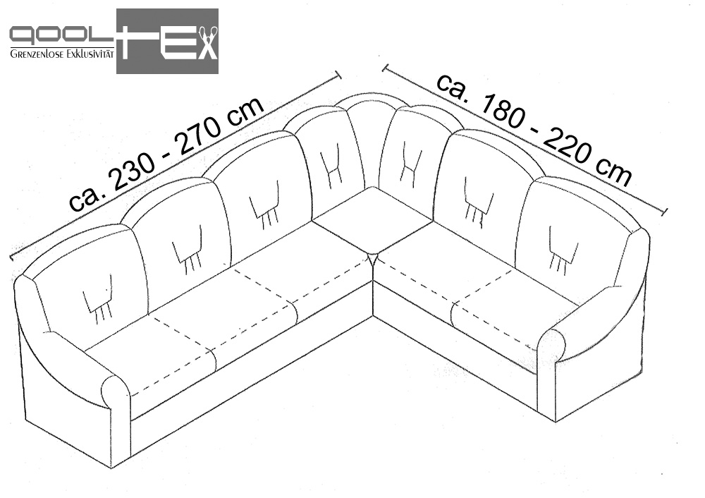 ecksofa hussen 100 baumwolle bezug dehnbar husse sofahusse lange seite links ebay. Black Bedroom Furniture Sets. Home Design Ideas