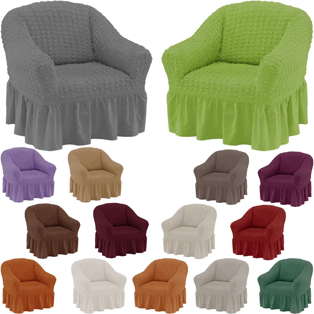 qool24 sofahusse hoch sesselbezug braun sessel husse bezug. Black Bedroom Furniture Sets. Home Design Ideas