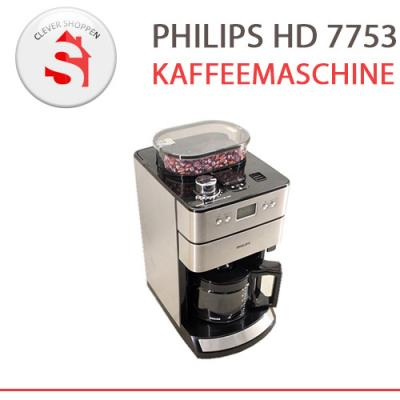 philips hd 7753 kaffeemaschine mahlwerk br hsystem edelstahl b ware ebay. Black Bedroom Furniture Sets. Home Design Ideas