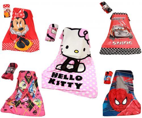 kinder decke kuscheldecke tagesdecke hello kitty disney cars spiderman minnie ebay. Black Bedroom Furniture Sets. Home Design Ideas