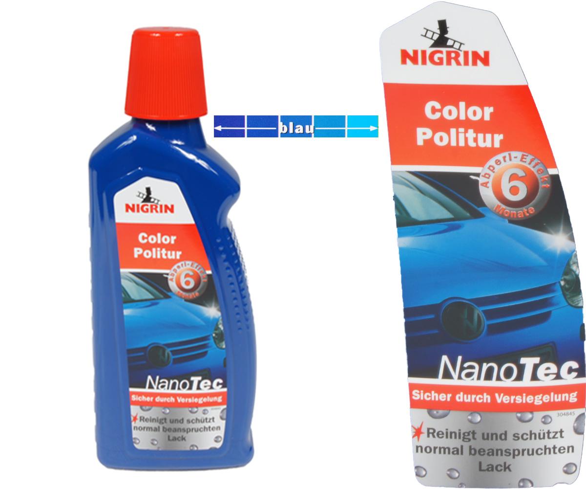 nigrin nanotec color politur 3in1 politur versiegelung. Black Bedroom Furniture Sets. Home Design Ideas
