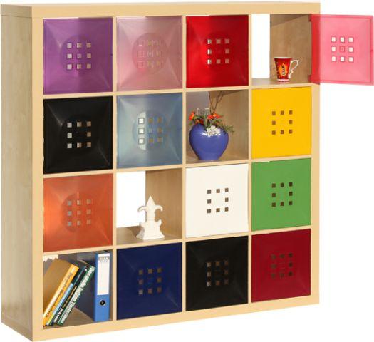 Ikea Hemnes Vitrine Weiß Gebraucht ~ Details zu Tür für Raumteiler Exp edit Wohn Kind erzimmer Regal