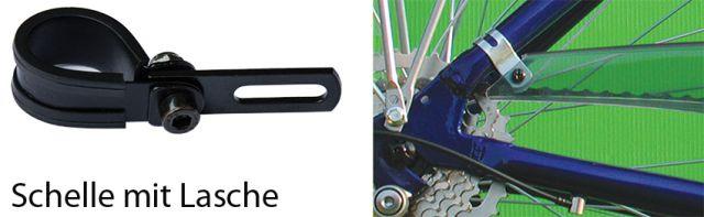 Retro Vintage Fahrrad Kettenschutzhalter Kettenschutz Halter Horn universal NOS