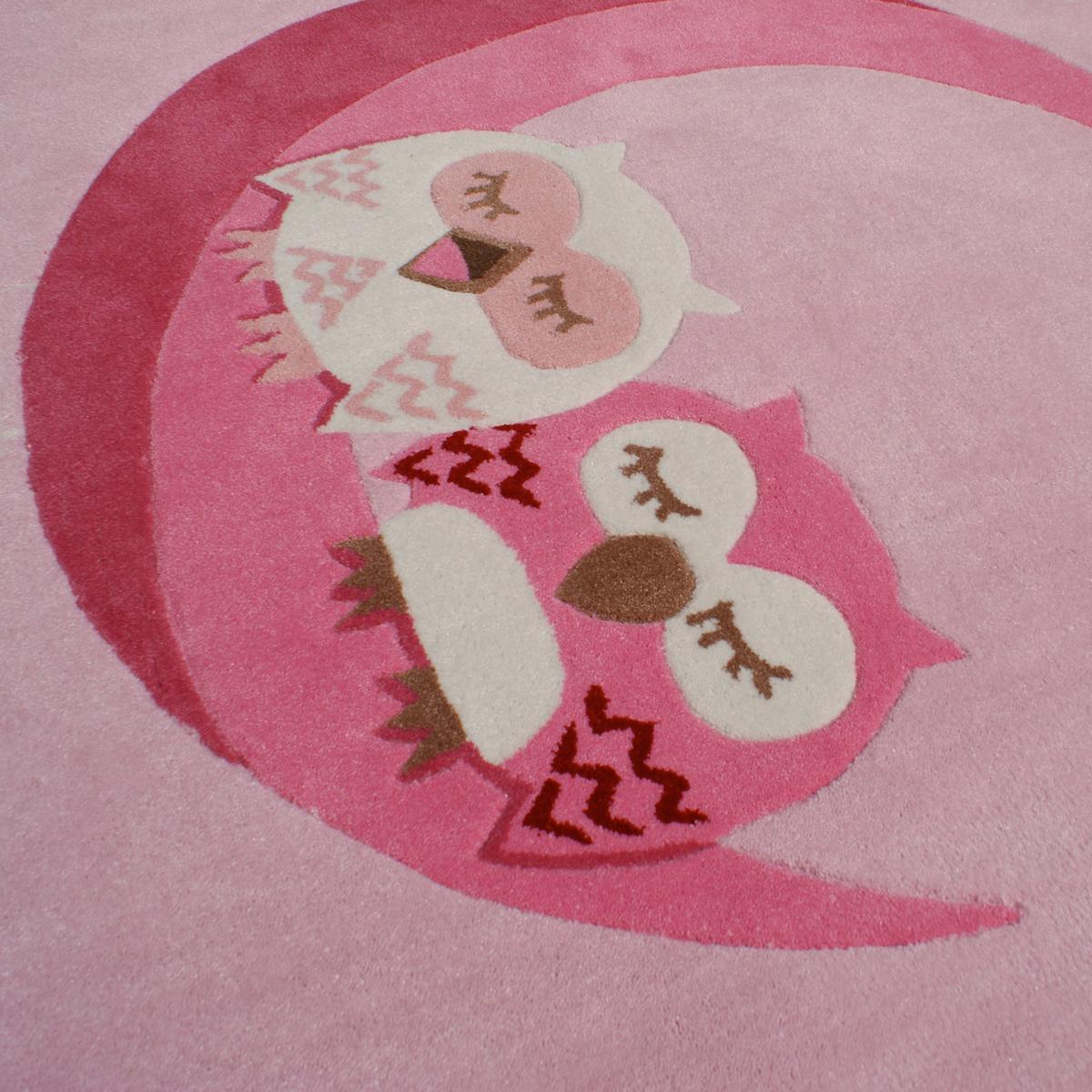 Kinderteppich eule rosa  Kinderteppich SCHLAFENDE EULEN rosa 135x190cm SONDERPREIS | eBay