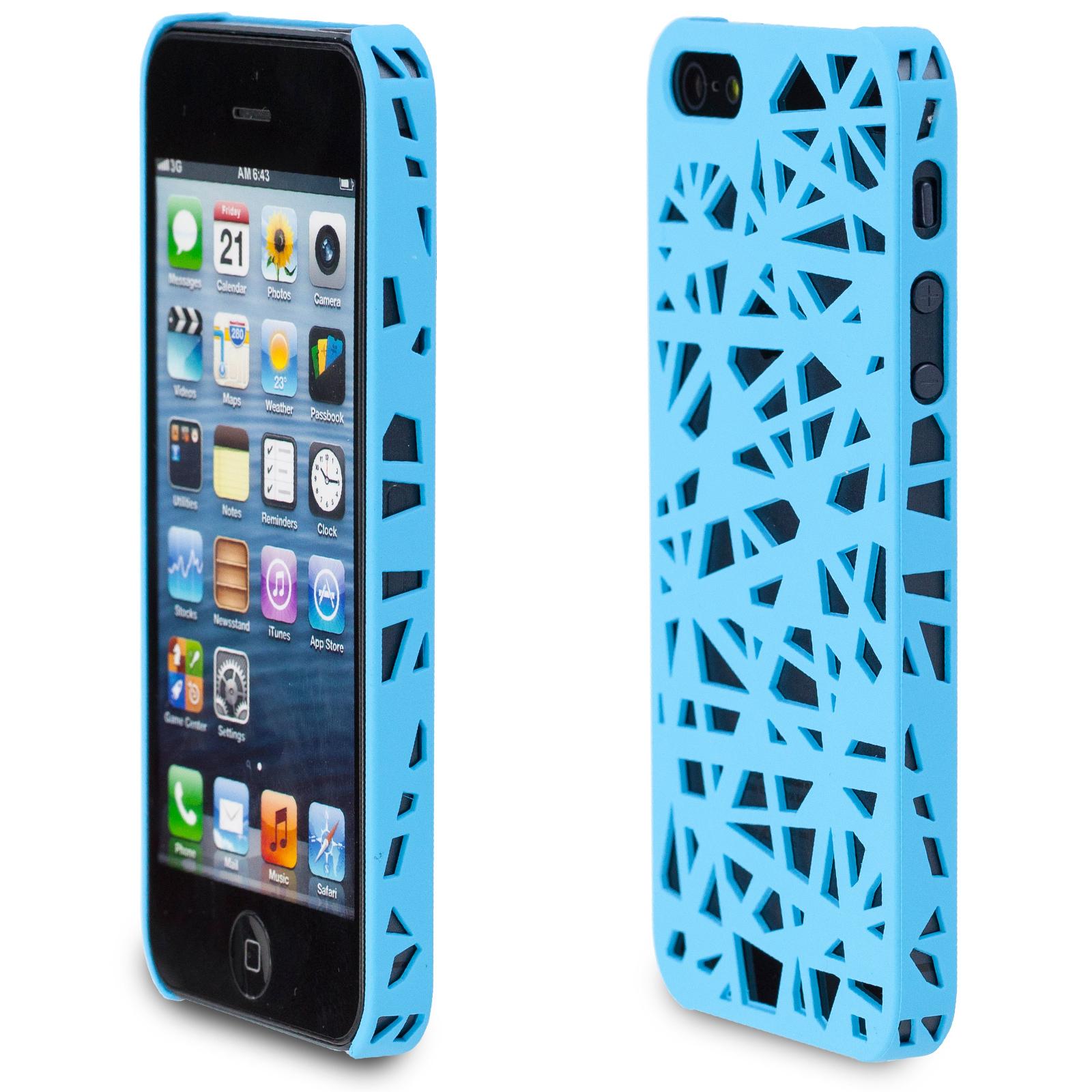 Vogelnest-Huelle-fuer-Apple-iPhone-5-5S-Netz-Schale-Schutzhuelle-Case-Cover-Pastell