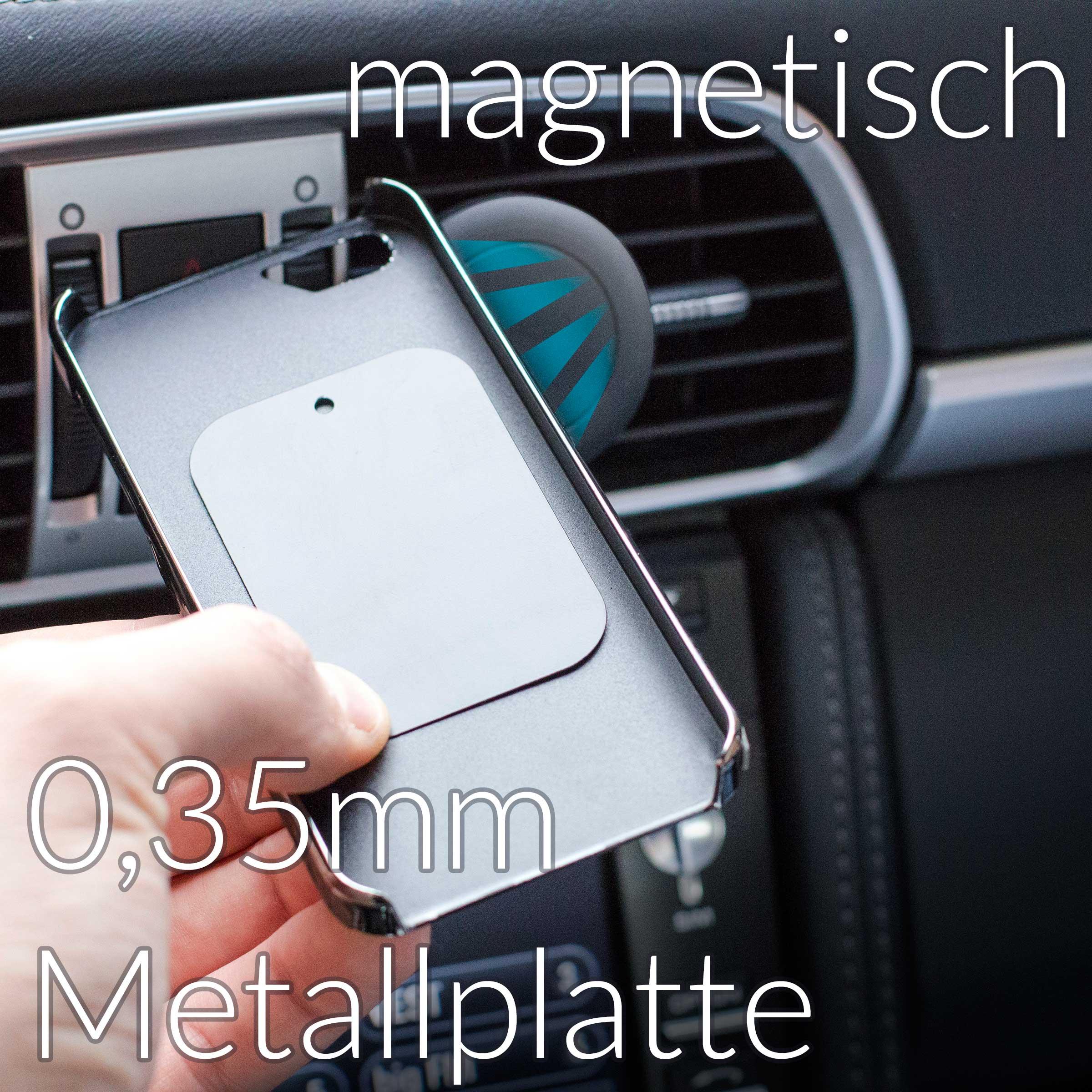 Kfz l fter magnet halterung l ftung auto halter magnetisch for Minimalistisches smartphone
