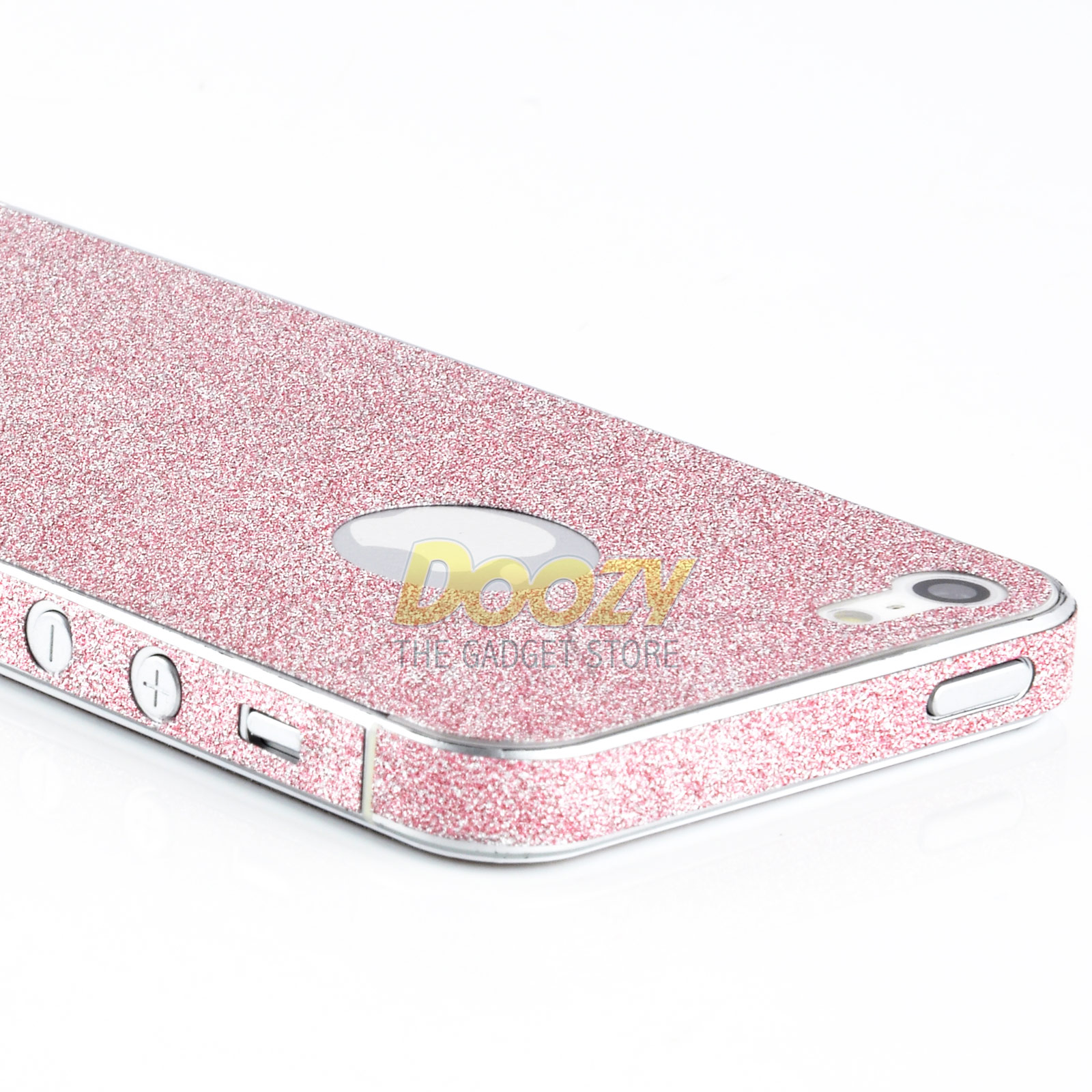 f r iphone 5 rosa glitzer design folie skin cover case girly pink bling. Black Bedroom Furniture Sets. Home Design Ideas