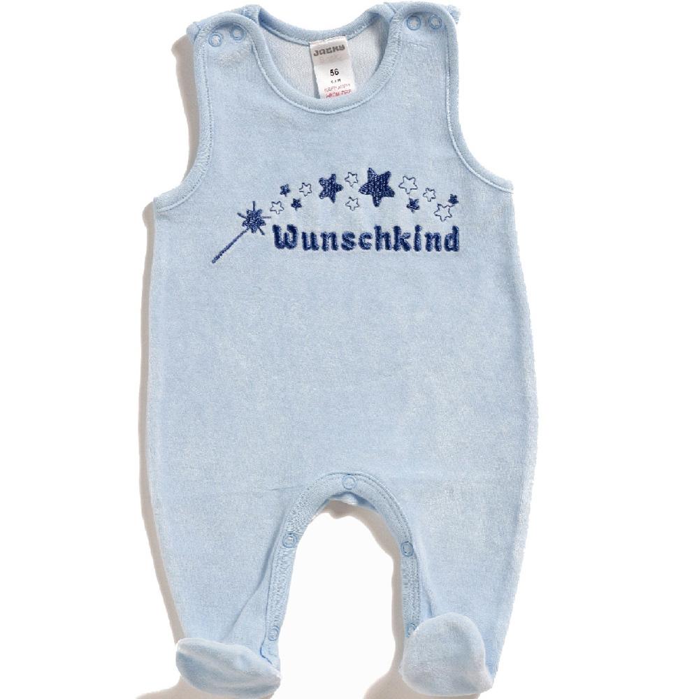 babystrampler wunschkind rosa blau nicki strampler mit spruch neu ebay. Black Bedroom Furniture Sets. Home Design Ideas
