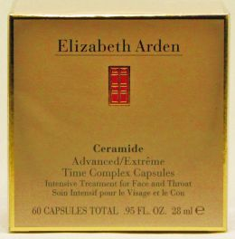 Elizabeth Arden Ceramide Advanced Time Complex Face and Throat 60 Kapseln