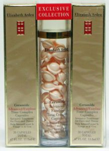 Elizabeth Arden Ceramide Advanced Time Complex Face and Throat 90 Kapseln