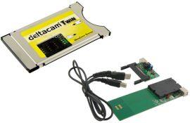 Deltacam Twin Deltacrypt CI Cam V2.0 Modul + USB Programmer
