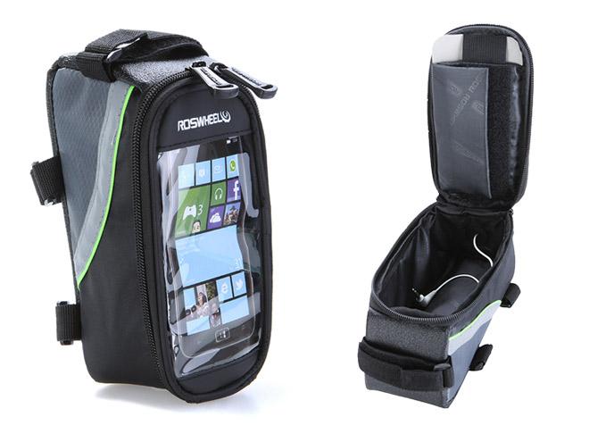 fahrrad smartphone handy fahrradtasche navigation. Black Bedroom Furniture Sets. Home Design Ideas