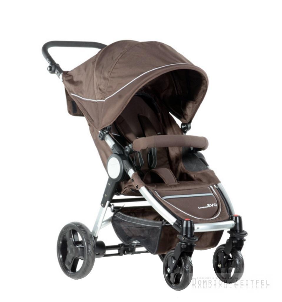 baby plus compact evo braun kinderwagen sportwagen buggy neu uvp 249 00 eur ebay. Black Bedroom Furniture Sets. Home Design Ideas
