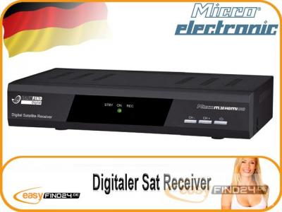 digitaler sat receiver micro m30 hdmi usb pvready b ware. Black Bedroom Furniture Sets. Home Design Ideas
