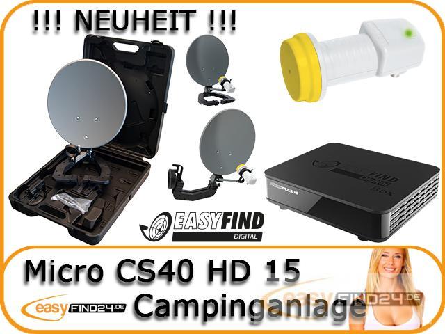 hdtv camping sat anlage campingkoffer micro cs40 hd 15. Black Bedroom Furniture Sets. Home Design Ideas