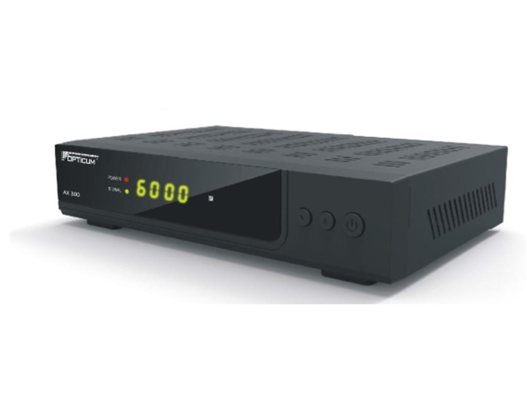 opticum red ax 300 hd digital hdtv satelliten receiver mit. Black Bedroom Furniture Sets. Home Design Ideas
