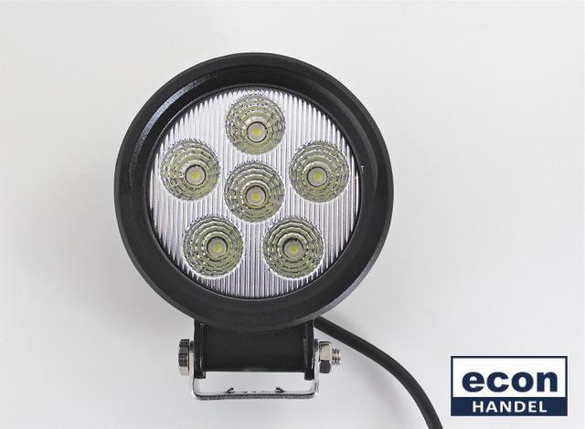 led arbeitsscheinwerfer 18 watt 9 30 volt 1380 lumen 6. Black Bedroom Furniture Sets. Home Design Ideas