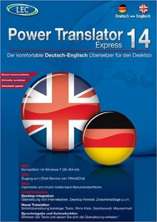 Power translator 14 express deutsch englisch cd rom windows 2000 xp 7 neu ebay for Deutsch englisch translator