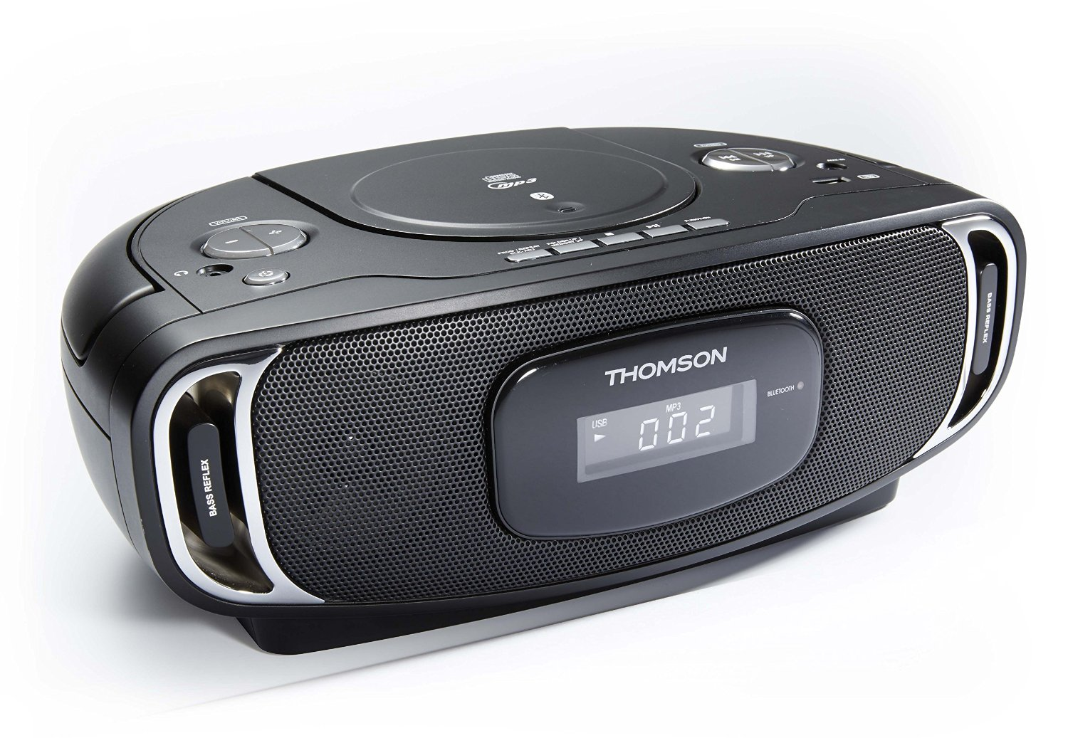 thomson tragbares radio cd mp3 player portable usb fm bluetooth fernbedienung ebay. Black Bedroom Furniture Sets. Home Design Ideas