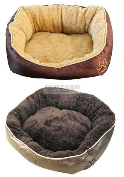 Hundekissen-Hundebett-L-Bett-Hund-Katze-Hundekorb-Katzenbett-Hundesofa-Beige