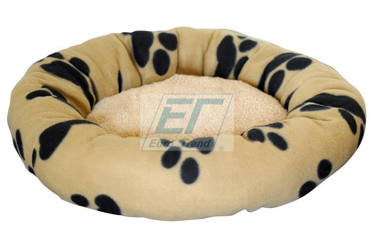 Hundekissen-Hundebett-RUND-Bett-Hund-Katze-Hundekorb-Katzenbett-Hundesofa