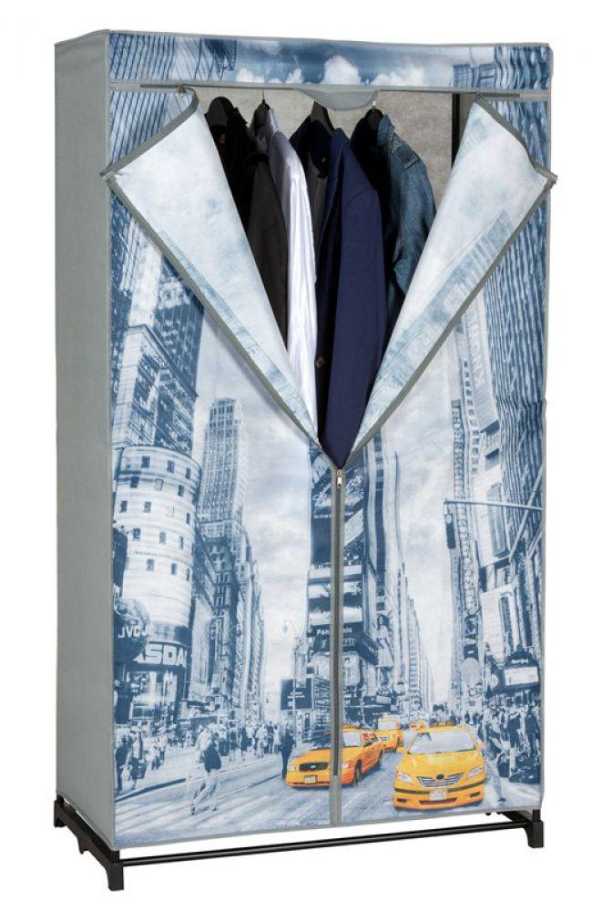 mobiler textil kleiderschrank new york taxistoffschrank faltschranktextilschrank ebay. Black Bedroom Furniture Sets. Home Design Ideas