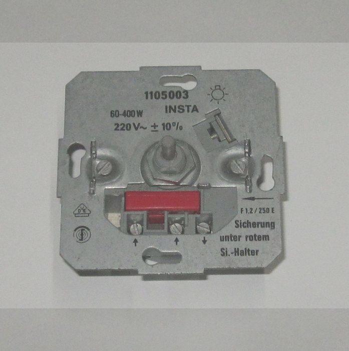 insta dimmer 1105003 60 400w f r leuchten lampen ebay. Black Bedroom Furniture Sets. Home Design Ideas
