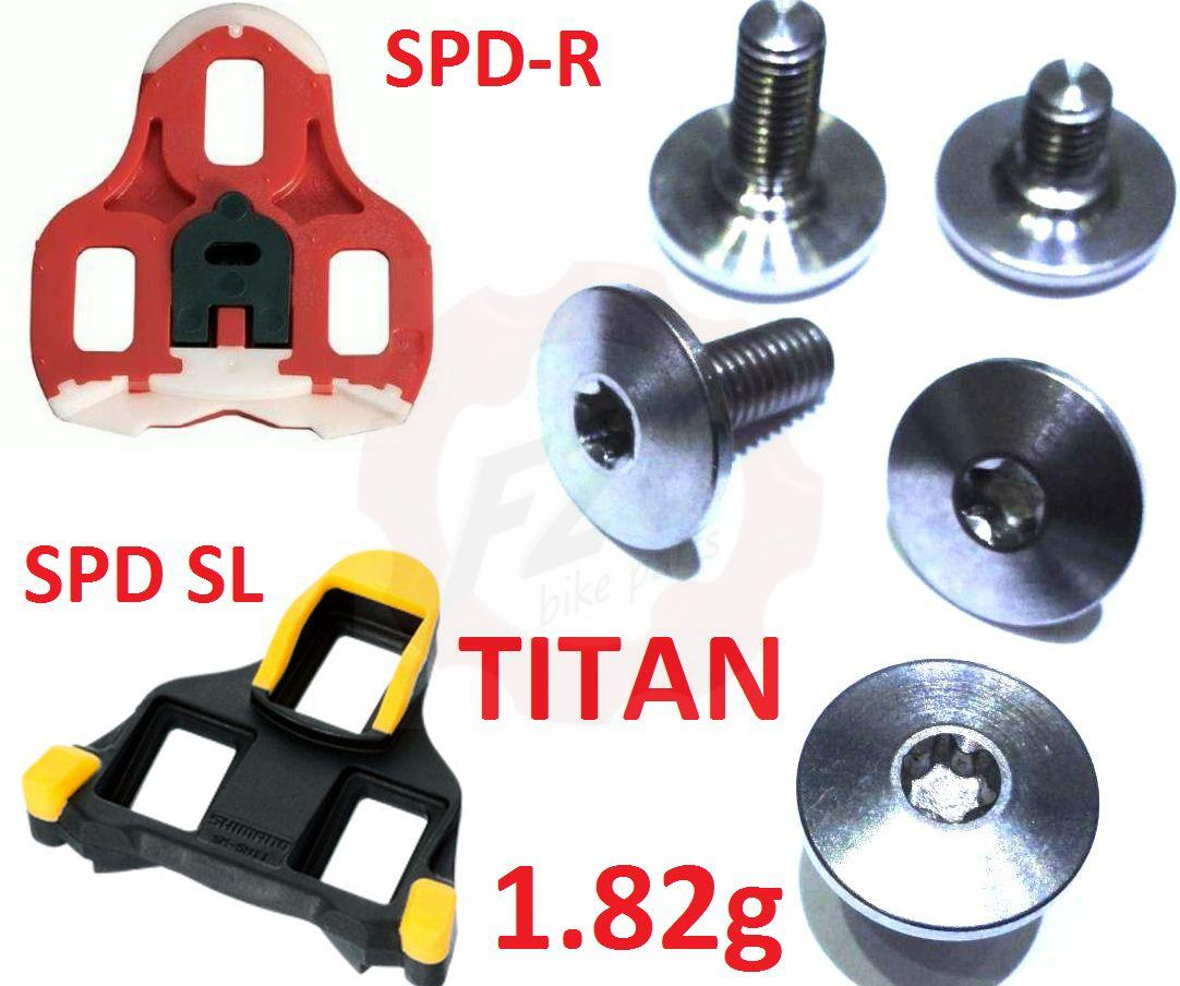 titan spd r sl cleat schrauben shimano torx t25 bolt pedal. Black Bedroom Furniture Sets. Home Design Ideas